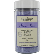 STRESS LESS by Aromafloria OCEAN MINERAL BATH SALTS 1240ml BLEND OF LAVENDER, CHA