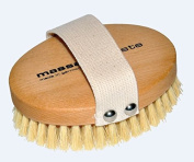 Natural Dry Skin and Body Brush for Anti Cellulite, Circulation and Exfoliating by Nessentials