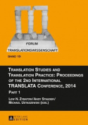 Translation Studies and Translation Practice [GER]