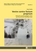 Venire Contra Factum Proprium [GER]