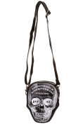 Banned Apparel Skull Ouija Board Goth Punk Unique Festival Bag Crossbody Purse