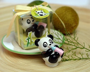 3D Panda candle moulds, silicone mould soap, animal candle moulds,sugar craft tools,chocolate bakeware