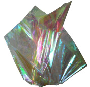 Coloured Mylar Cellophane Sheets 46cm x 80cm - 6 Sheets Each Pack