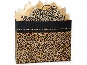 Nashville Wraps Shopping Gift Bag 25 Count - Leopard - Vogue