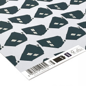 Official BBC Doctor Who TARDIS Print Gift Wrapping Paper
