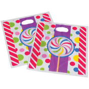 Candy Theme Party Loot Goody Bags With Handles