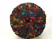 Di.Ve Scaletta Mini Ladder Ribbon Yarn #35319 Jelly Bean - Blue, Red, Green, Gold, Orange - 25 Gramme 65 Yards 0.5cm Width