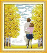 CaptainCrafts New Cross Stitch Kits Patterns Embroidery Kit - Eternal Love