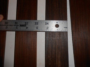 ONE cocobolo quartersawn, sanded fingerboard 36cm long x 5.1cm wide x 0.6cm thick, kd