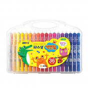 Amos Premium Non-toxic Silky Crayon Pasnet 36 Colours