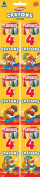 Playskool Crayon Set, Classic, Set of 4