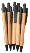 Bamboo Style Pen 5-Pack Refill for caseElegance Leather Journal Diary