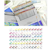 Fine Art 72 Colour Marco Drawing Shading Oil Base Non-toxic Pencils set for Artist Sketch