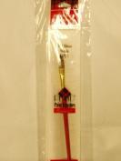 Plaid Paint Brushes Essentials Gold Nylon 1/4 Glaze 42721