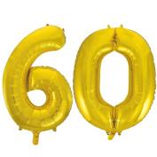 Jumbo Gold Foil Balloons-60