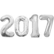 Jumbo Silver Foil Balloons-2017