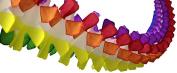 3-pack 3.7m Tissue Paper Finger Fringe Party Garland
