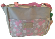 In-Obeytions Baby Nappy Bag-Weekender Tote-Stylish Design with Adjustable Straps