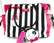Betsey Johnson Baby Nappy Bag with Changing mat