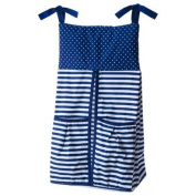 Dots N' Stripes Nappy Stacker - Blue