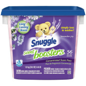 Snuggle Scent Boosters Long-lasting scent Lavender Joy Simply toss in washer Concentrated Scent Pacs, 56 count, 1170ml