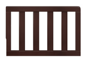 Storkcraft Toddler Guardrail, Espresso