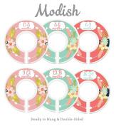 Modish Labels Baby Nursery Closet Dividers, Closet Organisers, Nursery Decor, Baby Girl, Flowers, Pink, Mint, Arrows, Tribal
