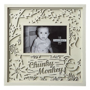 Chunky Monkey Baby 4 x 6 Laser Cut Easel Back Picture Frame