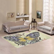 JC-Dress Area Rug Butterfly Modern Carpet 2.1mx1.5m