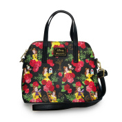 Disney Beauty And The Beast Floral Bag