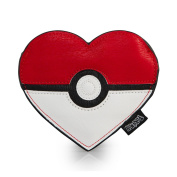 Pokemon Pokeball Heart Coin Purse