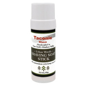 Taconic Shave Barbershop Quality Urban Woods Shaving Soap Stick with Antioxidant-Rich Hemp Seed Oil 70ml/71g