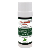 Taconic Shave Barbershop Quality Eucalyptus Mint Shaving Soap Stick with Antioxidant-Rich Hemp Seed Oil 70ml/71g