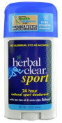 Herbal Clear 24 Hour Natural Sport Deodorant -- 50ml - 2pc