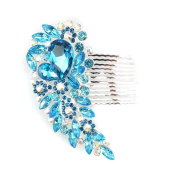 Bridal decorative hair comb - Diamante