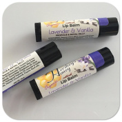 Lip Balm Lavender and Vanila Beeswax Organic