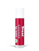 TREAT Jumbo Lip Balm - Cherry Organic & Cruelty Free