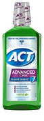 Act Mouthwash Advanced Care Plaque Guard, Clean Mint, 1000ml by Act Mouthwash