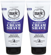 Magic Shave Cream Shave, Regular - 180ml - 2 pk