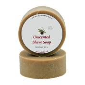 Shaving Soap - Unscented Shave Bar Soap - 120ml bar