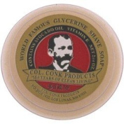 Colonel Conk Glycerine Shave Soap Bay Rum