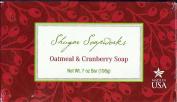 Shugar Soapworks Oatmeal and Cranberry Soap 210ml