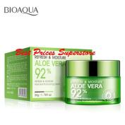 BIOAQUA 92% Aloe Vera Refresh Moisture Cream Moisturising Skin Lightening 50g