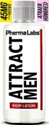 PhermaLabs Feromonas Crema Corporal Para Mujer - 180ml- Atraer Hombres instantáneamente- Mayor Concentración De Feromonas Posible- Aumenta El libido- y Aroma fresco de larga duración 45mg