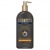 Gold Bond Ultimate Gold Mens Essentials Hydrating Lotion Mens, 430ml (Pack of 4) by CHATTEM INC