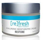 Hyaluronic Pure Moisturising Cream (Post-peel Repair and Restore) Enhanced with Squalane and Botanical Extracts, Best Wrinkle Cream by Refresh Skin Therapy