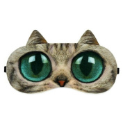 Ayygiftideas Personality 3D Animal Eye Mask Breath Unisex Eye Ice Pack Patch