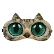 Ayygiftideas Personality 3D Animal Eye Mask Breath Unisex Eye Ice Pack Patch