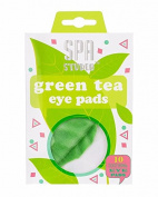 Jean Pierre Women's Spa Studio Green Tea Eye Pads-2 Pack- Each Contains 5 treatment