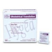 PDI Healthcare D74800 Hygea Obstetrical Towelette, 20cm x 13cm Size
